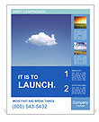 White Cloud Poster Template