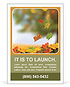 Leaves Fall Ad Template