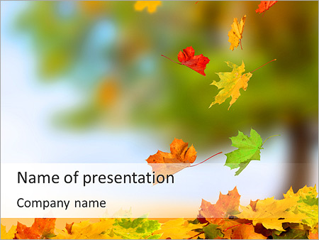 Environmental powerpoint templates backgrounds google slides leaves fall powerpoint template toneelgroepblik Choice Image