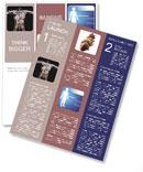 Human Body Mechanism Newsletter Templates