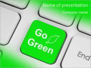 Go Green Promo Шаблоны презентаций PowerPoint