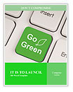 Go Green Promo Word Template
