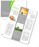 Eco Lamp Newsletter Templates