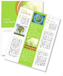 Organic Farming Newsletter Template
