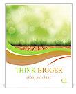 Organic Farming Poster Template