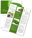 Ecological Car Newsletter Template