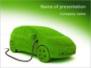 Voiture écologique Modèles des présentations  PowerPoint