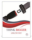 Safety Belt Poster Templates