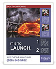 Auto In Fire Poster Template
