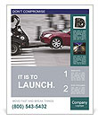 Auto Manufacture Poster Template