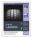Car Tire Poster Templates