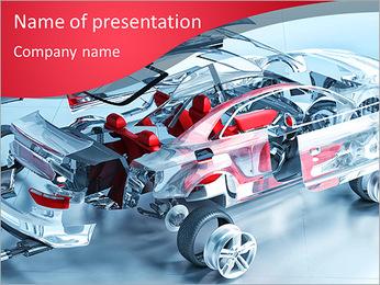 Usine de voitures Modèles des présentations  PowerPoint