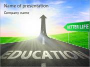 Education Path PowerPoint Templates