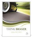 Green Car Poster Templates