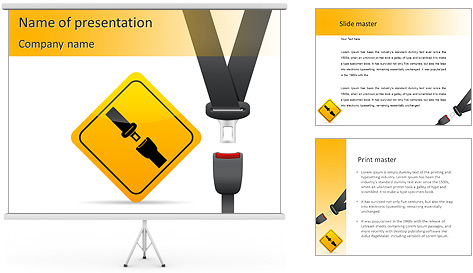 Car Safety PowerPoint Template Backgrounds ID 0000007064 – Safety Powerpoint Template