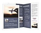 Fly By Plane Brochure Templates