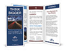 Traffic At Night Brochure Templates