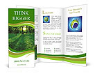 Forest In Spring Brochure Templates