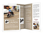 Drive By Motorbike Brochure Templates