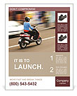 Drive By Motorbike Poster Template