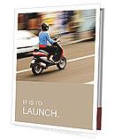 Drive By Motorbike Presentation Folder