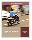 Drive By Motorbike Word Templates