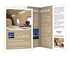 Business Class Travel Brochure Template