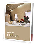 Business Class Travel Presentation Folder