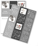 Chassis of the vehicle Newsletter Templates