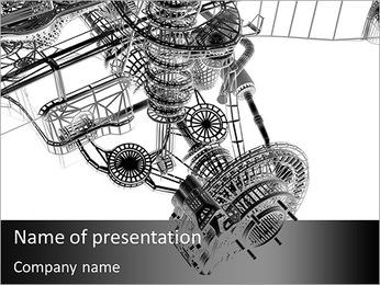 Châssis de véhicule Modèles des présentations  PowerPoint
