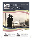 Airport Farewell Flyer Template