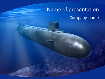submarine powerpoint template backgrounds google slides id