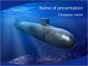 Submarino Plantillas de Presentaciones PowerPoint