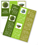 Grass Sphere Newsletter Template