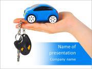 Toy Car Modèles des présentations  PowerPoint