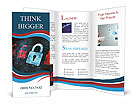 Security In Internet Brochure Templates