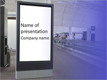 Advertisement Board PowerPoint Template