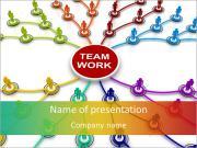 Team Work Structure PowerPoint Templates