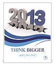 2013 Year Poster Template