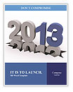 2013 Year Word Templates