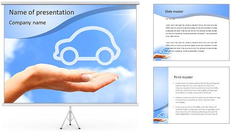 Rêve de voitures Modèles des présentations  PowerPoint