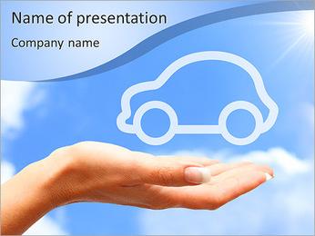 Rêve de voitures Modèles des présentations  PowerPoint - Diapositives 1