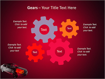 Moteur de voiture Modèles des présentations  PowerPoint - Diapositives 27