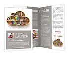 Book Shelf Brochure Templates