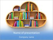 Book Shelf PowerPoint Templates