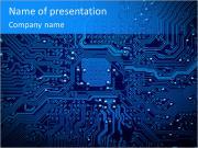 Синяя фишка Шаблоны презентаций PowerPoint