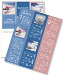 Snowboard Newsletter Template