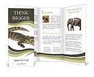 Crocodile Brochure Templates