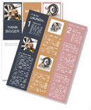 Change Wheel Newsletter Template