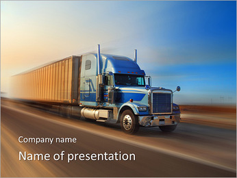 Lorry PowerPoint Template